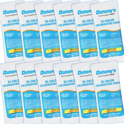 Doheny's Di-Chlor Shock - 12-1 lb. Bags ()