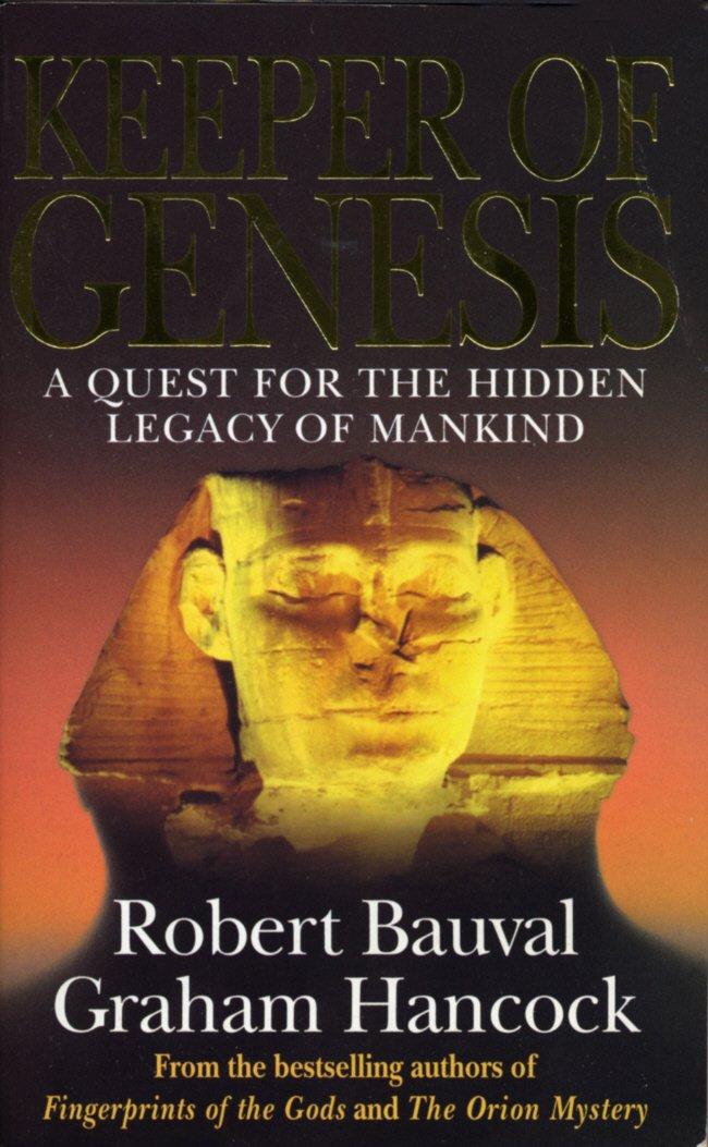 Keeper Of Genesis  A Quest For The Hidden Legacy Of Mankind  English Edition