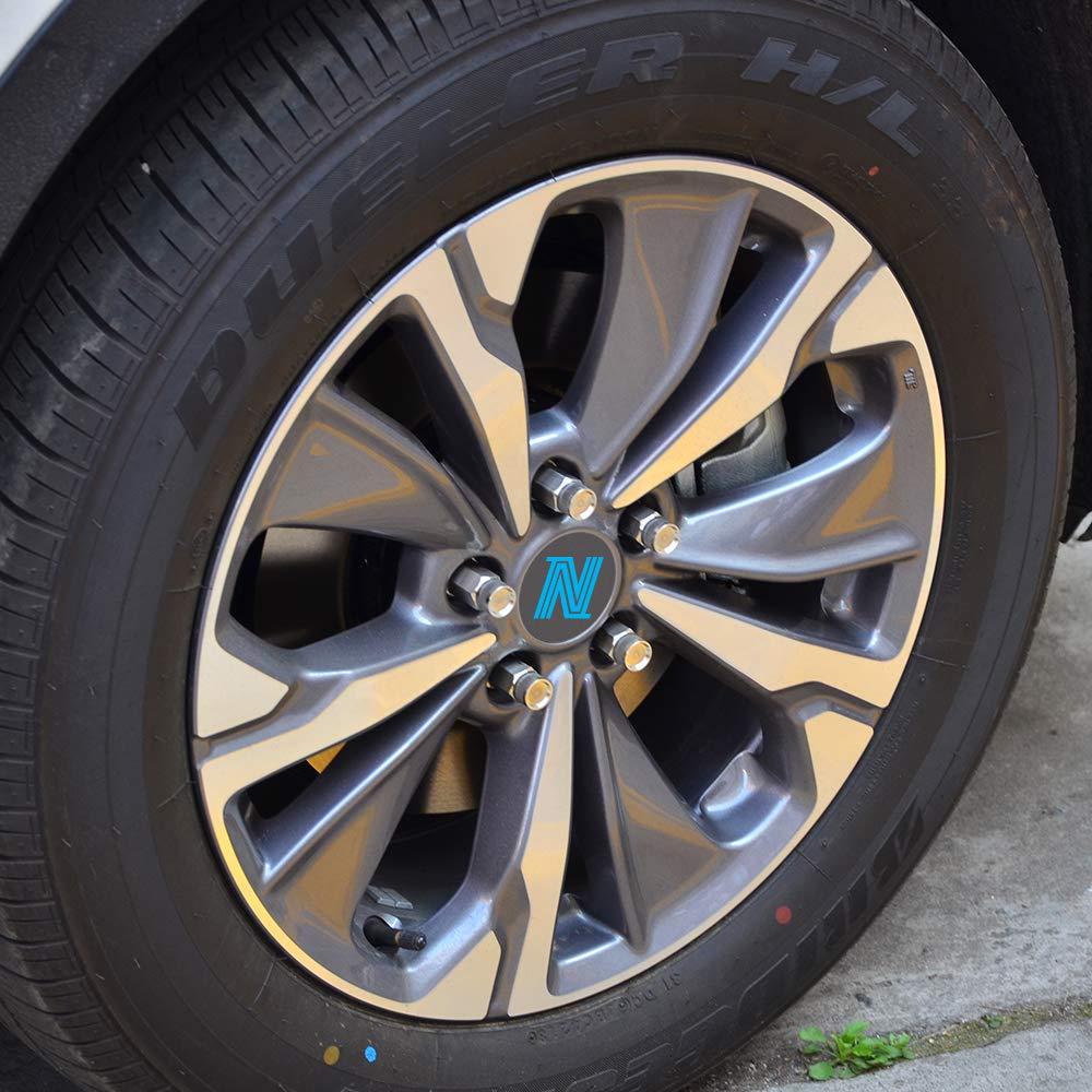 Nicecnc 20PCS 12x1.25MM T304 Stainless Steel Anti-Rust,Corrosion Wheel Lug Nuts & Tool Replace Subaru Infiniti G35/37 Q50/60/70 BRZ Impreza Forester,Nissan 370Z GTR Rouge Teana Sylphy Altima 370Z 350Z by NICECNC (Image #9)