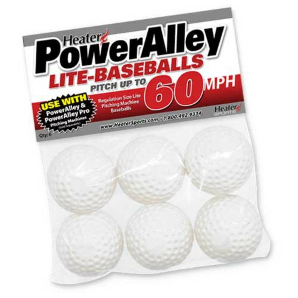 Slider Poly Lite Ball - Set of 6 - Pack of 2 (12 total)