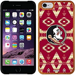 Coveroo iphone 6 4.7 Madera Wood Thinshield Case with Florida State Tribal Design