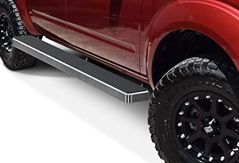 Wheel To Wheel Running Boards >> Aps Wheel To Wheel Running Boards 6 Inches Custom Fit 2005 2019 Nissan Frontier Crew Cab 5ft Bed Nerf Bars Side Steps Side Bars