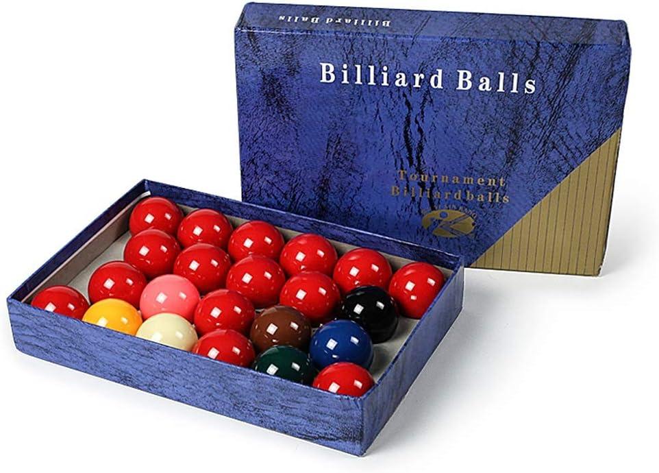 WXS Cristal Bolas de Billar de Snooker, 2 1/16