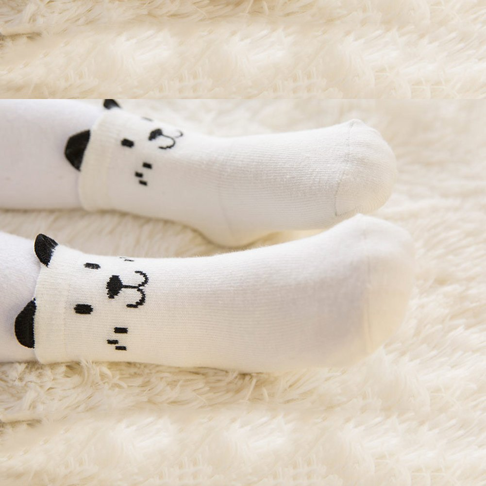 Cute Newborn Anti-slip Cartoon Ear Infant Toddler Baby Boy Girl Cotton Socks xxiaoTHAWxe Baby Socks
