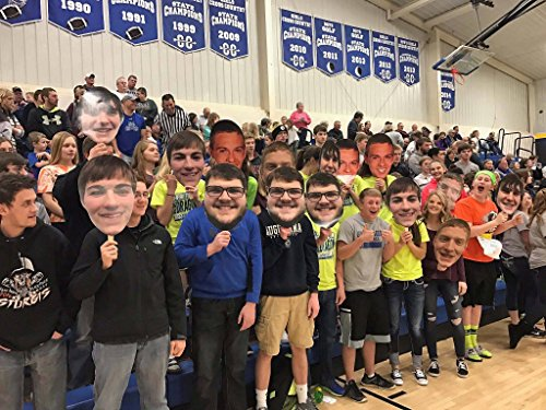 2 Foot Build A Head High School Basketball Big Heads Cardboard Face Cutout -