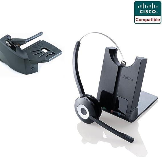 Amazon Com Cisco Compatible Jabra Pro 920 Cordless Headset Ehs Bundle Cisco Phones 6945 7841 7861 7962g 7965g 7975g 8811 8841 8845 8851 8861 8865 Lifter
