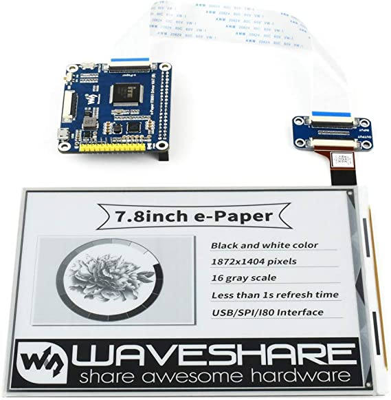 Details about  /Yellow 3.7 inch ePaper Display Raspberry Pi HAT,e-Ink 240x416