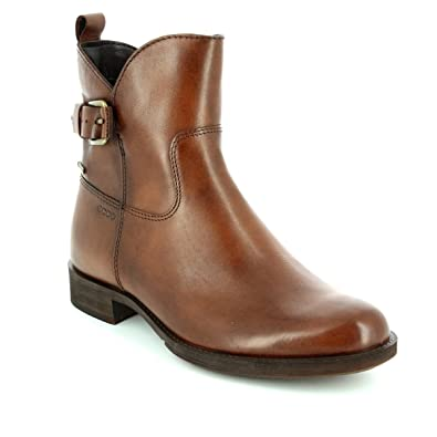ECCO 234693 11014 SAUNTER Gore TEX Brown Womens Ankle Boots