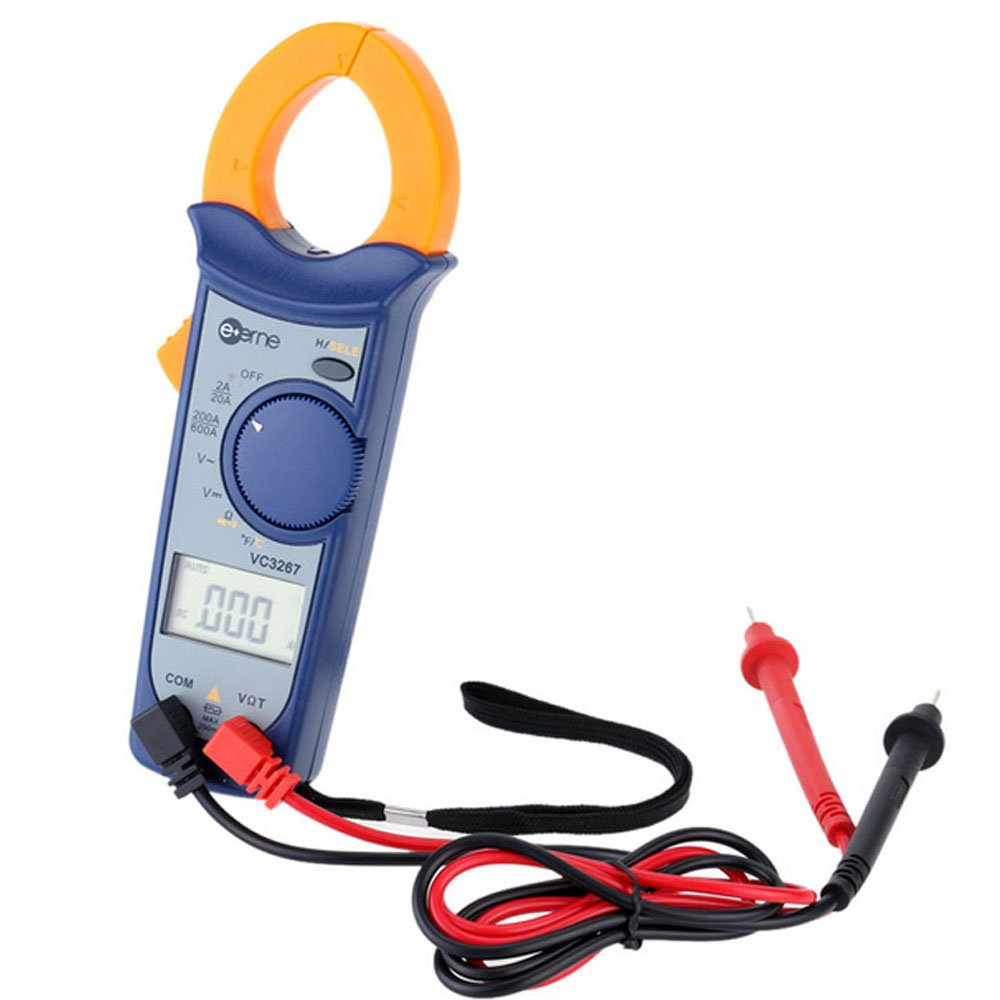 Digital Clamp Meter VC3267A 60 Pieces Multimeter with AC Current Resistance Voltage Capacitance