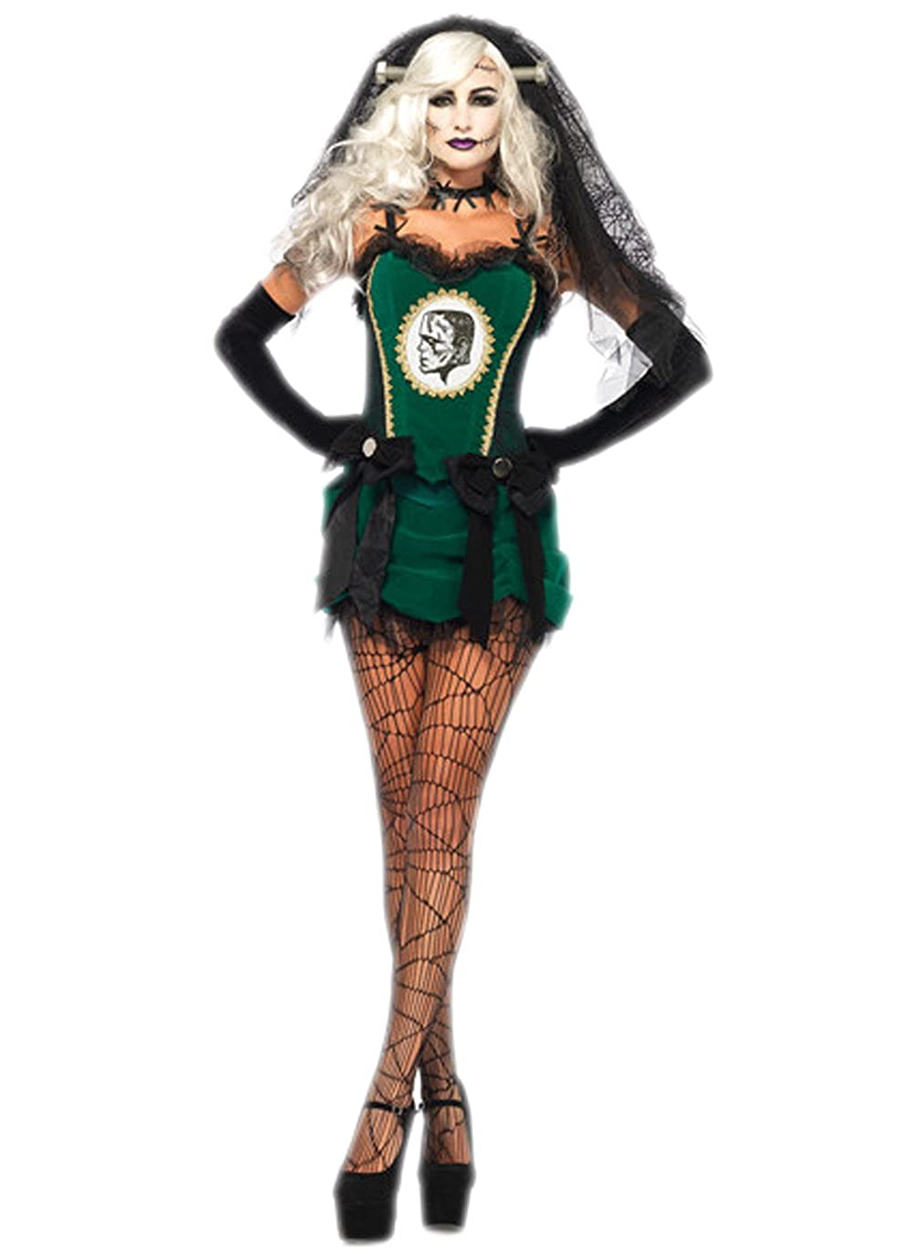 Halloween Bride.Amazon Com Jj Gogo Bride Halloween Costume Deluxe Adult