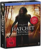 Hatchet 1-3 - Komplettbox mit allen 3 Teilen (3 Blu-rays)