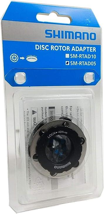 Shimano Centerlock to 6-Bolt Rotor Adapter Black One Size