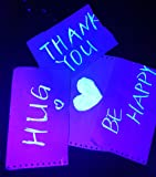 UV LED Black Light Bulbs 2 Pack, A19 E26 Blacklight Bulb for Glow in The Dark, UVA Level 385-400nm, Blacklight Light Bulbs for Parties Body Paint Fluorescent Poster Pet Stains