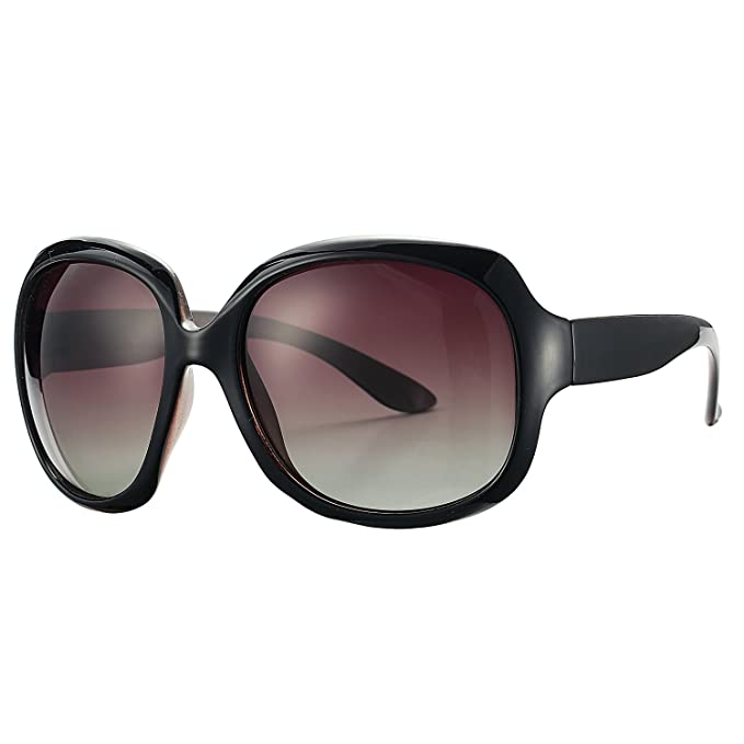 4b515724e4d Amazon.com  Pro Acme Oversized Polarized Sunglasses for Women