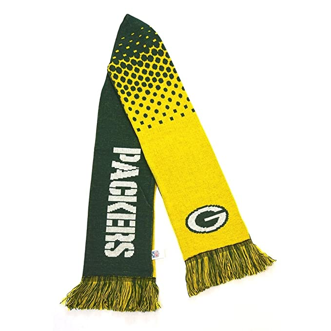 Forever Collectibles NFL Green Bay Packers Fade Scarf Schal: Amazon.es: Ropa y accesorios
