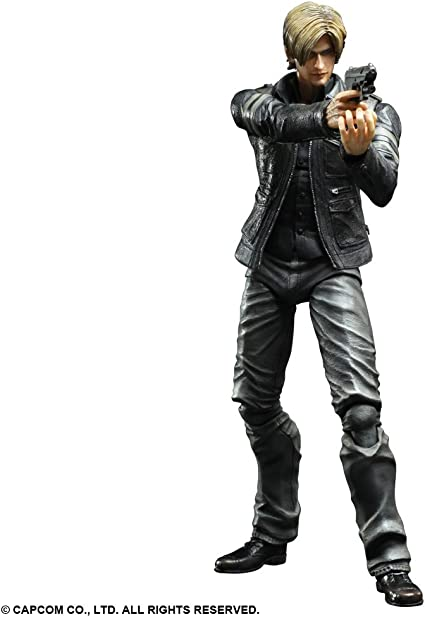 Square Enix Figurine Resident Evil 6 Leon S Kennedy Play Arts Kai 24cm