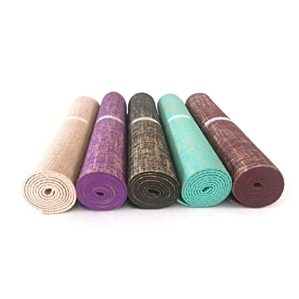 Mifusanahorn - Esterilla de Yoga de PVC Respetuoso con el ...