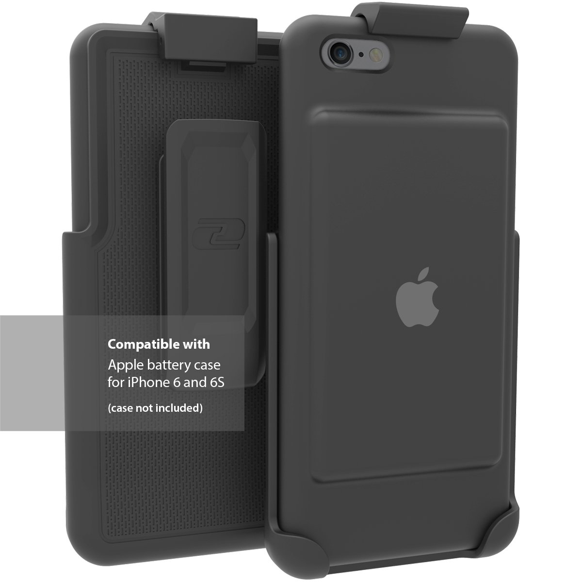 Encased Belt Clip Holster for the Apple Smart Battery Case (iPhone 6 and 6S) by Encased
