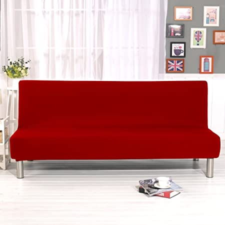 mony pure color sofa cover stretch elastic fabric sofa couch rh amazon co uk Slipcovers for Sofas with Pillows Floral Couch Slipcovers Sofa