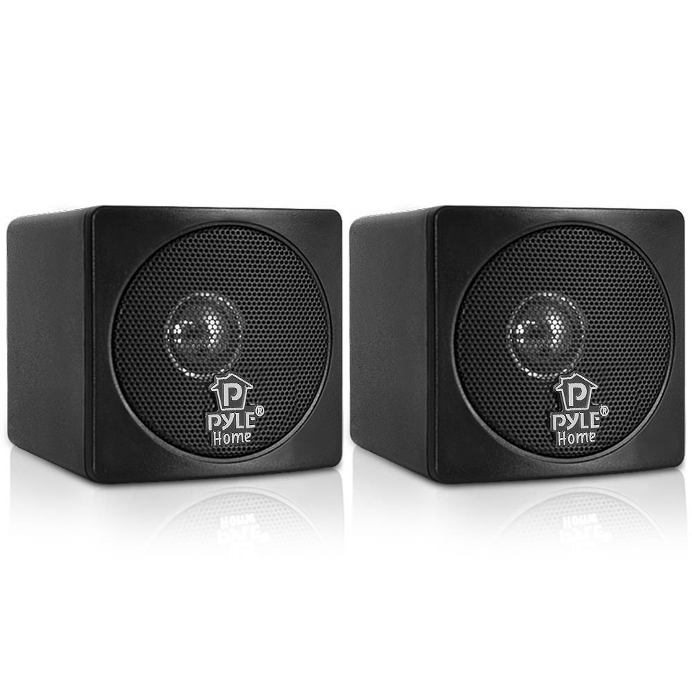 Parlante : Pyle Home PCB3BK 3-Inch 100-Watt Mini Cube...
