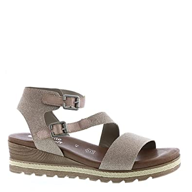 Womens D6350 Ankle Strap Sandals, Grey, 9 UK Remonte