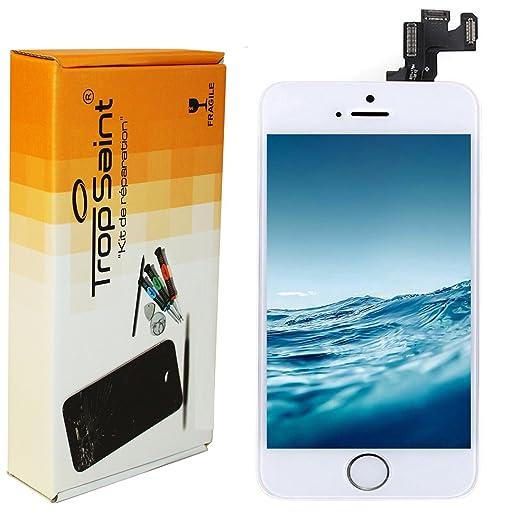108 opinioni per Kit di Riparazione Vetro Schermo Per iPhone SE Bianco Ricambio Completo LCD