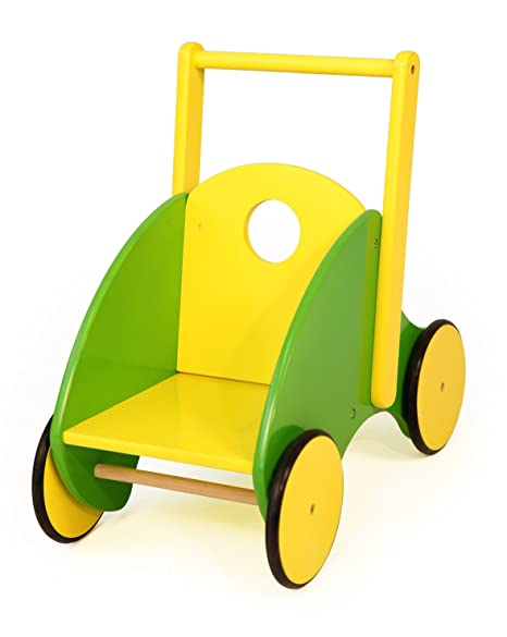 Bayer Design - Carrito andador de madera, 49/28/48 cm (52344