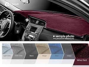 Fedar Compatible 2006-2010 Chrysler Pt Cruiser Dashcover Dashboard Cover Mat Pad-Indigo