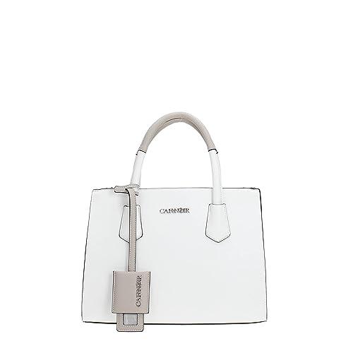 CafèNoir KBA001 Handbag Women WHITE TU  Amazon.co.uk  Shoes   Bags da598657d2b