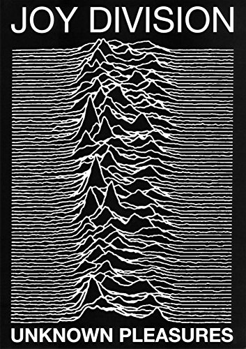 Laminated Joy Division punk Poster Unknown Pleasures Ian Curtis