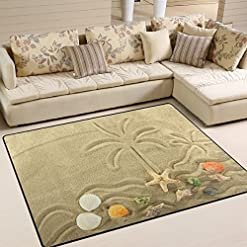 61401jNMr0L._SS247_ Palm Tree Area Rugs and Palm Tree Runners