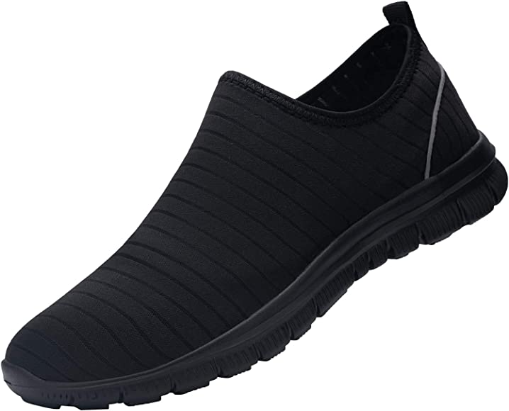 DYKHMILY Waterproof Work Trainers for
