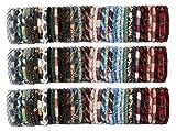 Random mix of 100 Different mix colors Nepal bracelets Roll On Bracelet (SET OF 100)