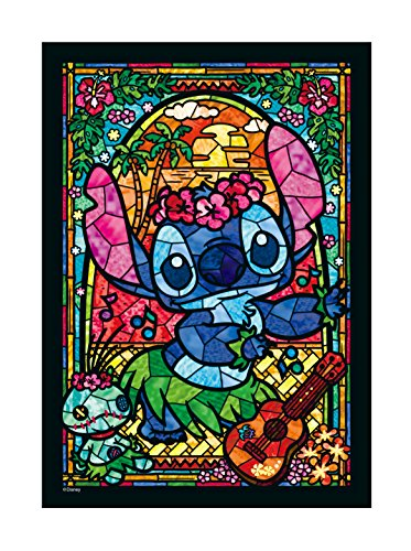 266 piece jigsaw puzzle Stained Art Stitch! stained glass (18.2x25.7cm)