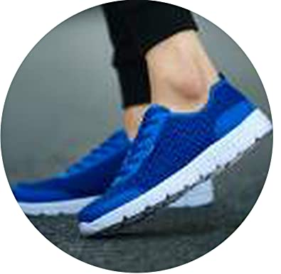 e50f482083b54 Amazon.com | Peony red 2019 Men Shoes Summer Sneakers Breathable ...