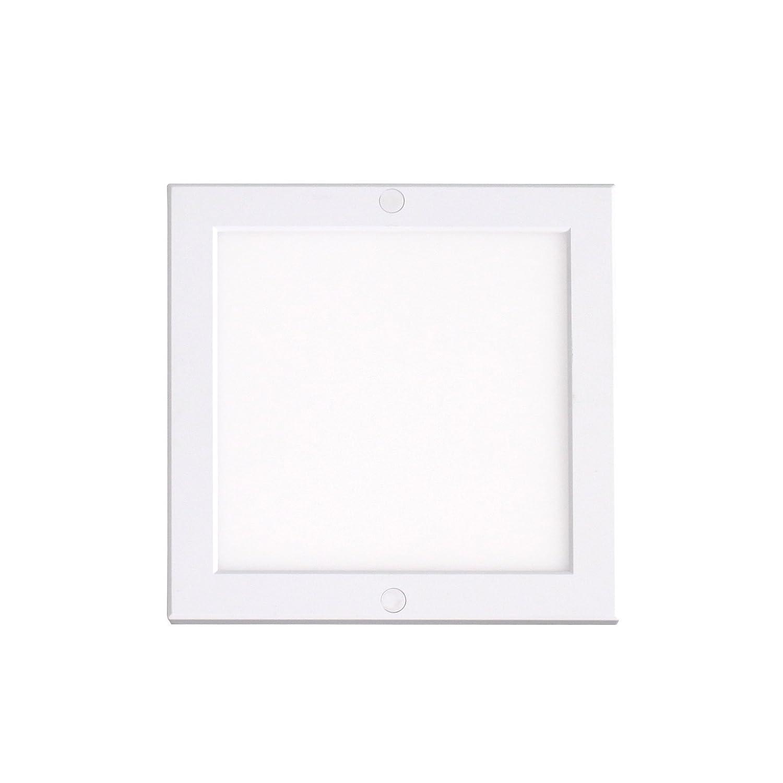 LED Panel Deckenleuchte eckig Aufputz Lampe 220x220mm 18W neutralweiß 4000K Deckenlampe Aufbau Mini-Panel flickerfrei, inkl. Montageleiste, Xtend Serie PLd