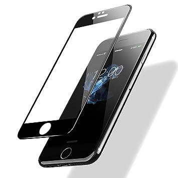 9b77ba6b35d POSUGEAR iPhone 6/ 6s Templado Protector de Pantalla, 3D Negro Pantalla  Completa Cristal Templado