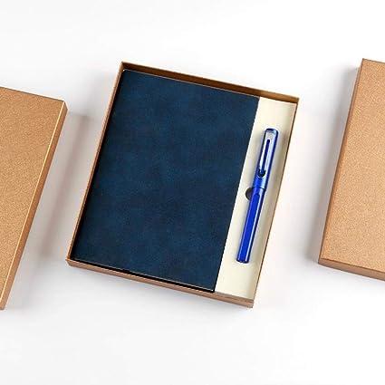 Cuaderno de tapa dura oficina retro grueso estudiante A5 ...