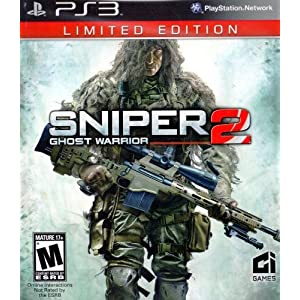 PS3: Sniper Ghost - Warrior 2 - Limited Edition - Playstation