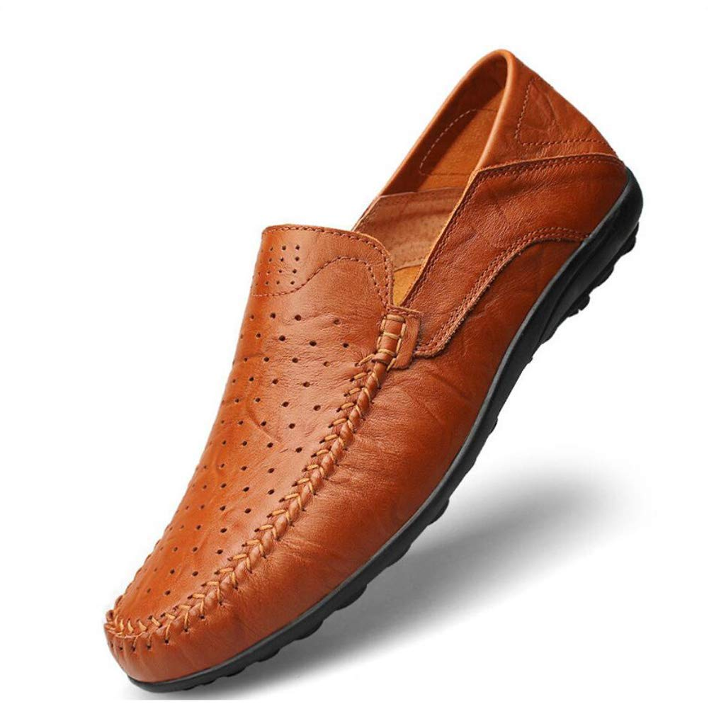Herren Comfort Loafers Leder Frühjahr Sommer   Herbst Komfort Loafers & Slip-Ons Wanderschuhe, Fahrschuhe, Atmungsaktivität Business-Kleid Schuhe ( Farbe   Wie gezeigt , Größe   Einheitsgröße )