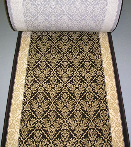 141369 - Rug Depot Dynamic Radiance 43014-3464 Chocolate European Hall and Stair Runner - 31