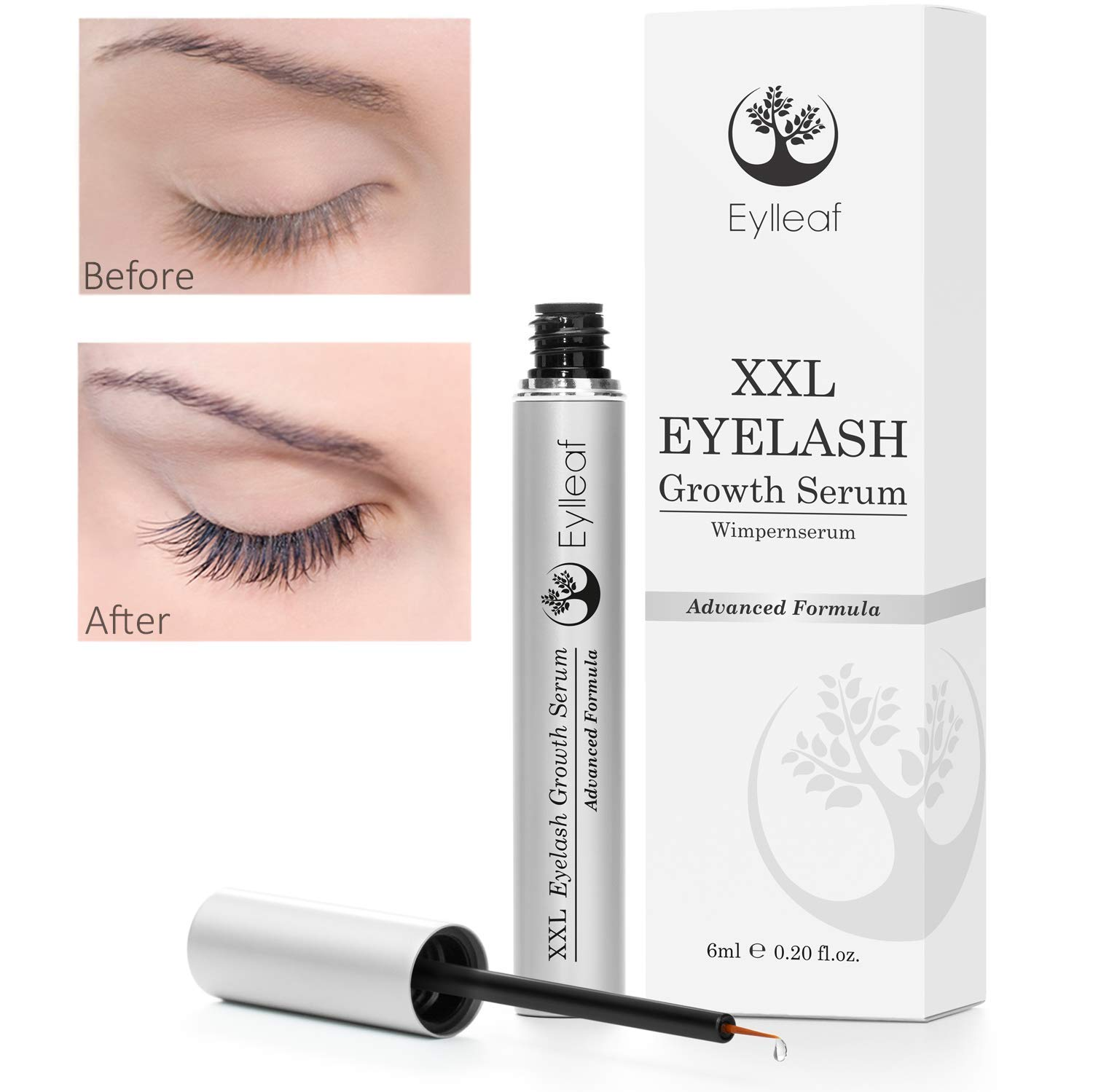 Eyelash Serum By Eylleaf Eyebrow And Eyelash Growth Serum For Long