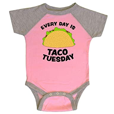 89b8cf95 Amazon.com: inktastic - Every Day is Taco Tuesday Infant Creeper 28ba1:  Clothing