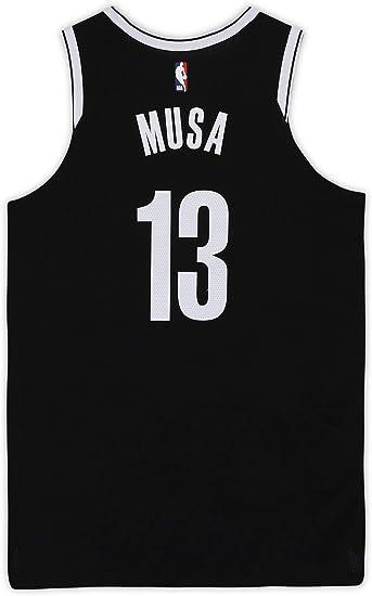 Dzanan Musa Brooklyn Nets Game Used 13 Black Jersey Vs Dallas Mavericks On January 2 2020 Size 50 4 Nba Game Used Jerseys At Amazon S Sports Collectibles Store