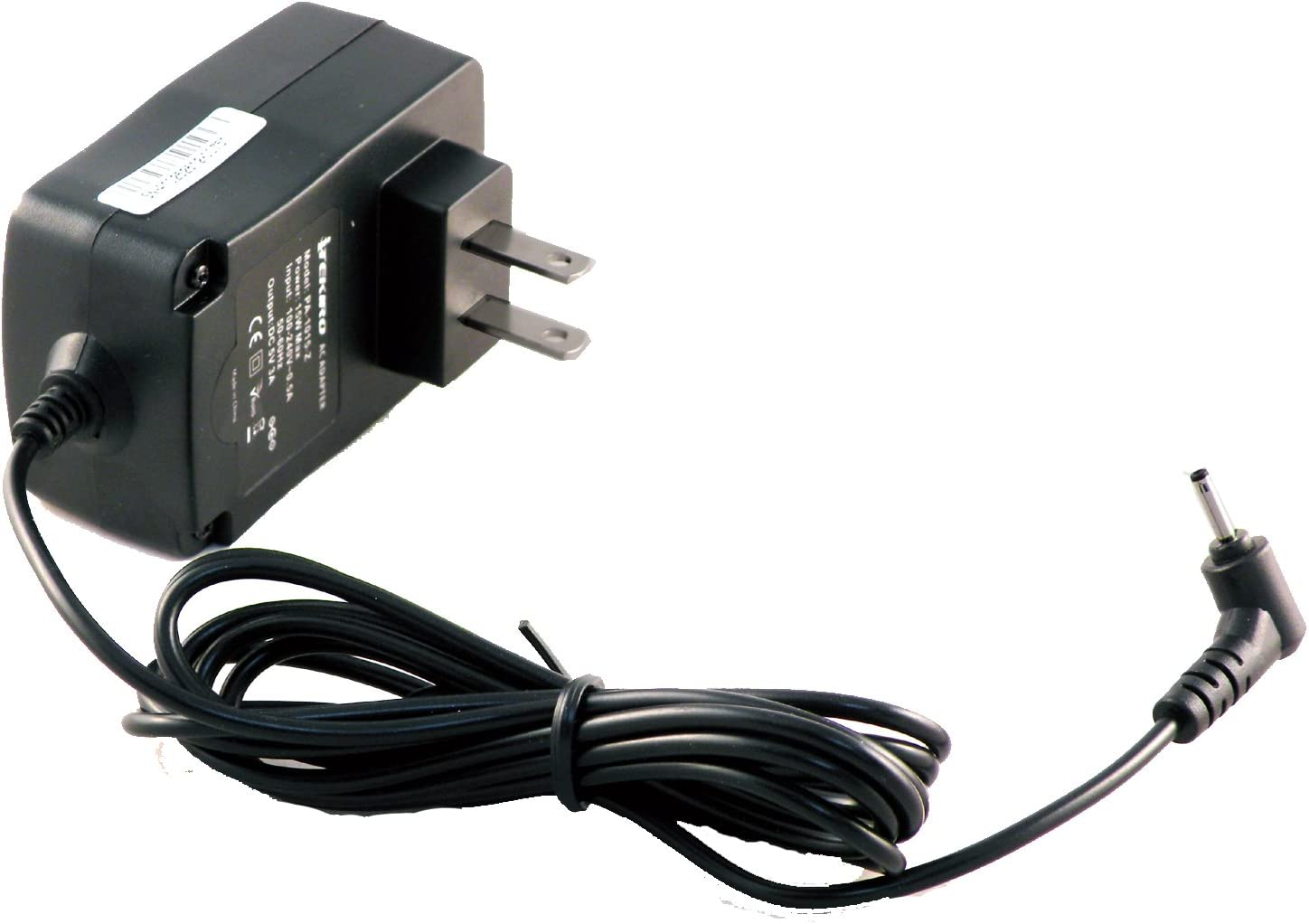 iTEKIRO 6.5 Ft Cord 5V AC Wall Charger for Acer One 10 S1002, S1002-12V2, S1002-145A, S1002-14PC, S1002-15XR; Acer NT.G53AA.003, NT.G53SI.001, NT.MUPSI.001, NT.MUPSI.003