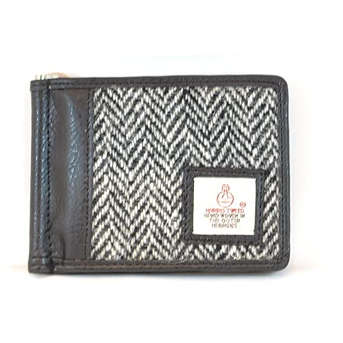 7059afb77ddb Harris Tweed Card Holder (White Herringbone)  Amazon.co.uk  Shoes   Bags