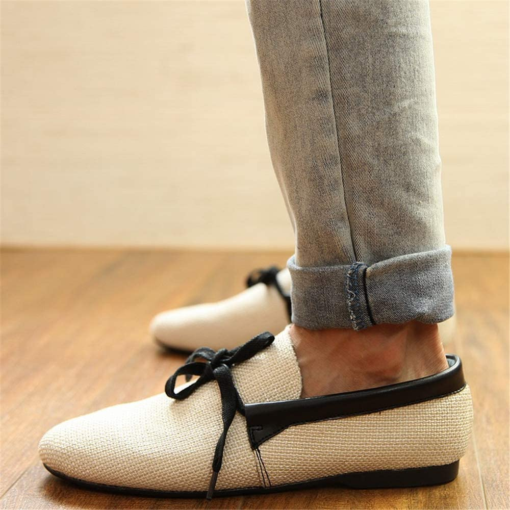 White-Lable 39//6 D M Mens Casual Loafer Slip-on Moccasin Boat Shoes Flat Driving Shoes US Men