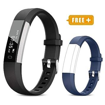 Amazon.com: TOOBUR Reloj de seguimiento de actividad física ...