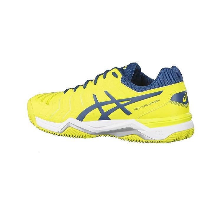 Mens Gel-Challenger 11 Clay Tennis Shoes, Gelb Asics