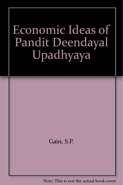 Download Economic Ideas of Pandit Deendayal Upadhyaya PDF